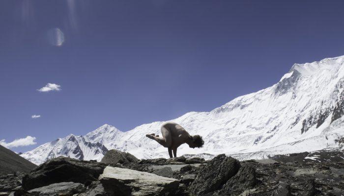 Annapurna Kakasana, Shape Of Peace,  Népal,  Annapurna,  (2016),  60x40cm