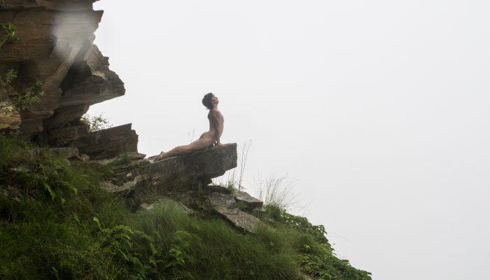 Dharamsala Bhujangâsana, Shape Of Peace , India, Dharamsala,  (2016), 60x40cm