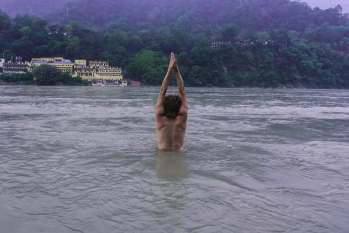 Talasana in Ganga Shape Of Peace,  India,  Rishikesh,  (2016),  60x40cm