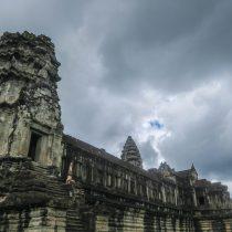 Sirsasana  Angkor Temple